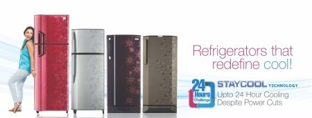 New latest Range of 2015 Refregerators updated from 190Ltr to 481Ltr of all leading Brands, also Get Huge Discounts and assured Gift Offers.