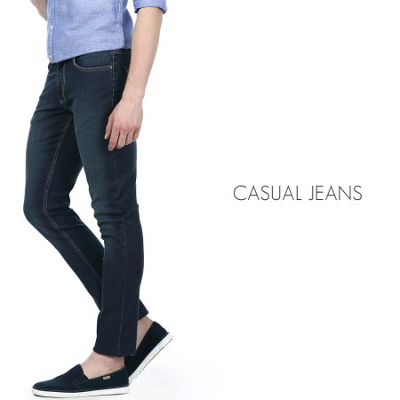 Keep it cool and casual with a pair of casual jeans from Basics. Available at your nearest Basics store.  - by BASICS LIFE - AMPA MALL, Chennai