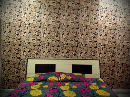 Beautiful Woody Wallpaper For Your Bed Room  . Contact For More Information  - by Creative Decor, Chandigarh