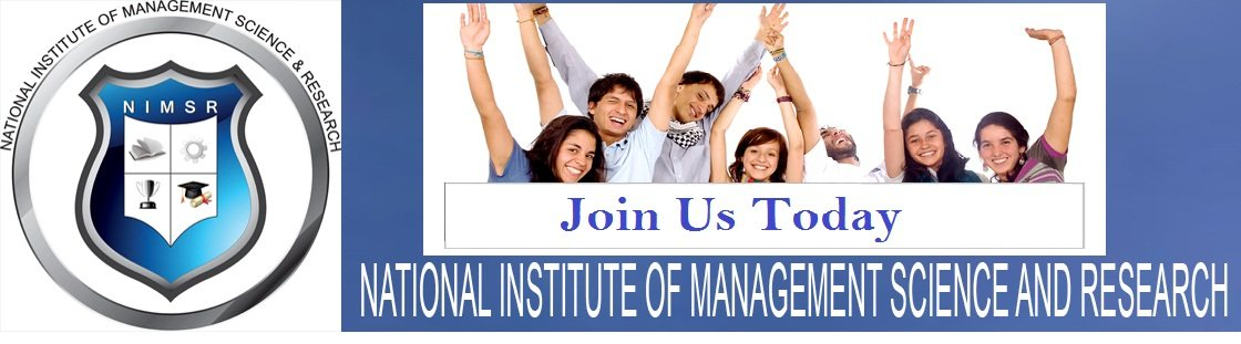 No.1 MBA  Distance Learning Institute In Tagore Garden. - by National Institute Of Management Science And Research, Jaipur