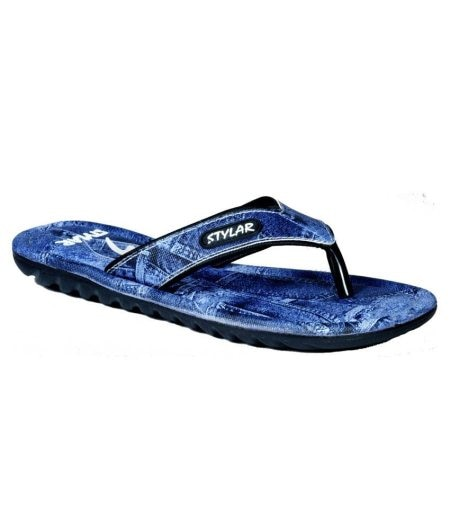 Checkout these comfortable and flattering SOLEMATES and get ready to rock the evergreen Denim trend with our Denim Drama Flip Flops !  Stylar - Flip flops for men Under 499 INR - by STYLAR - Best Footwear Manufacturers in Delhi, Delhi