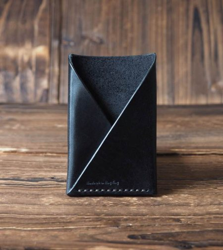 Leather Card Holder #Black http://www.es-corner.com/#!shop/c7hr - by ES Corner, Hong Kong