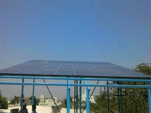 solar power project 10kwp - by Yes Eco Solutions, Chennai