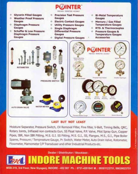 indore machine tools - by Indore Machine Tools, Indore