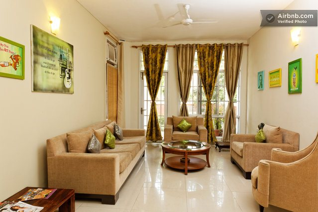 Budget hotels in sector 48, gurgaon Cinnamon Stays is rated No 1 on Tripadvisor a personalized guesthome offering budget luxury to corporate travelers. relocating to Gurgaon, Medical tourist, short and long stays www.cinnamonstays.in home c - by Cinnamon Homestay Gurgaon   +91-7525952362, Gurgaon
