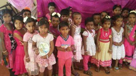 Rose Day Celebratins @ KG - by Viveka Matriculation School, Namakkal