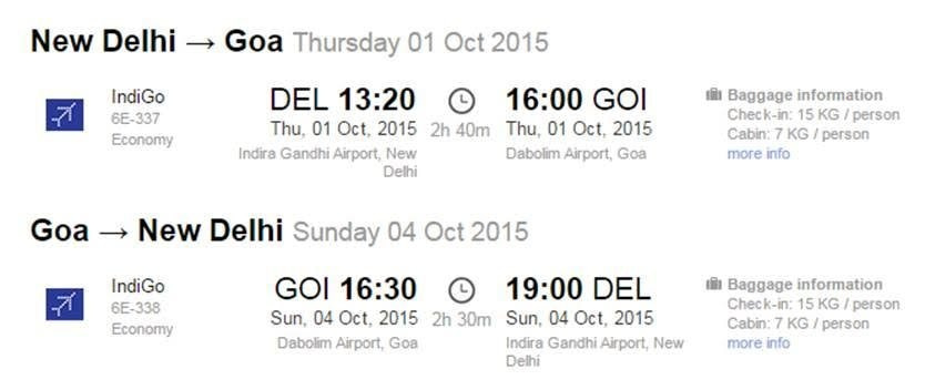 Safalgo is now introducing a very special fare of Goa for all their customers!!  Delhi- Goa   Return Fares are available at just Rs. 19000/- only  Hurry!!!!!  Limited Seats Available!!!!!  With warm regards  Poonam Gupta  Safalgo Tours & Tr - by Safal Go Tours and Travel, Delhi