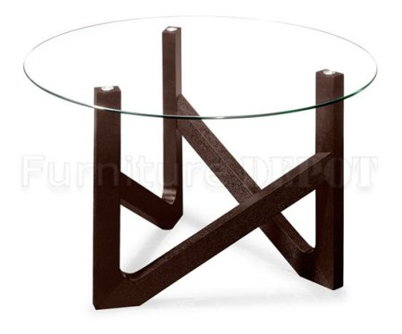 Round Glass wooden table manufacturers in chennai