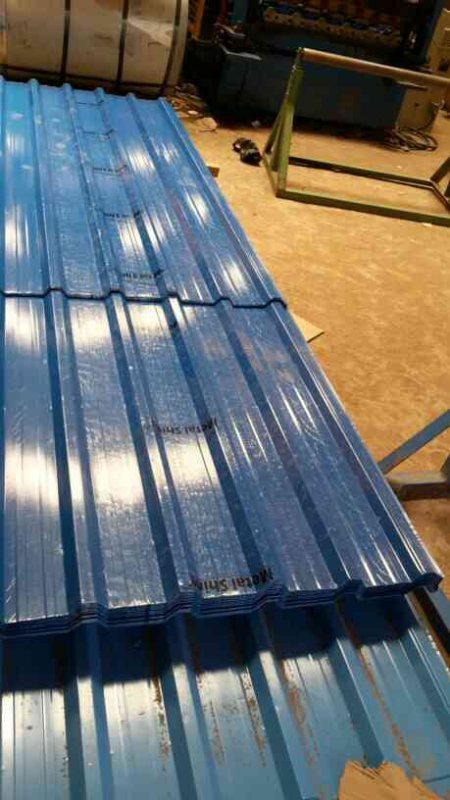 We are manufacturers of colour coated roofing sheets   - by Metal Shine Roofing , Chennai