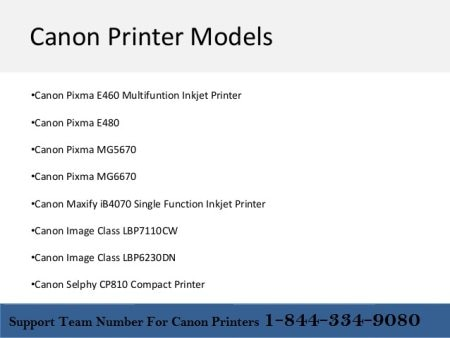 Support Team For Canon Prinetrs 1-844-334-9080 (Toll Free) Connectivity Problem Operating System compatibility issues Configure and connect wireless printer Print quality issues Troubleshoot paper feed issues Error message issues Installati - by support Team for Canon 1-844-334-9080 (Toll Free), Brooklyn