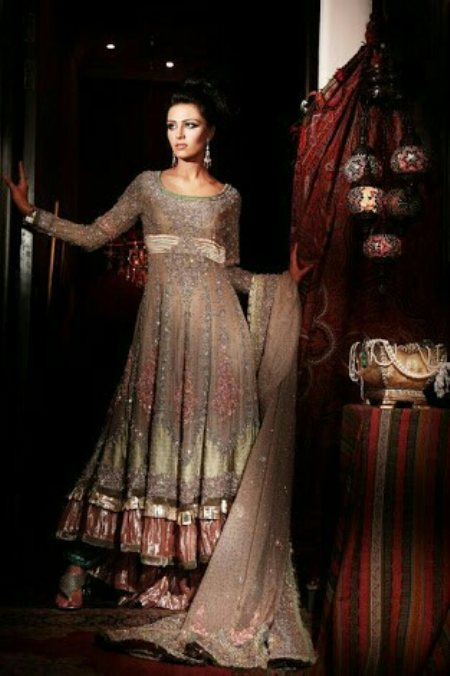 indian party wear fully bottom work. - by Nawabs Collection, Hyderabad