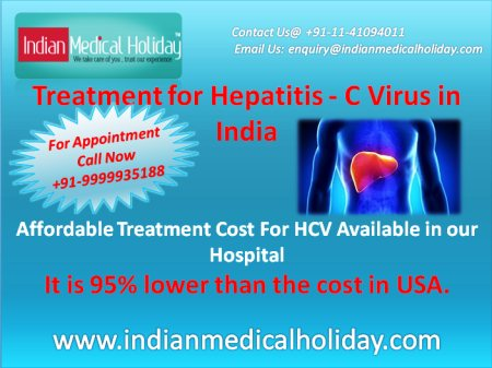 HCV treatment In India available at very affordable cost than other countries. Contact us for further information.