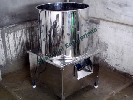 Shanthini Enterprises is leading Manufacturer of Poultry Defeathering Machines, Small Scale Poultry Processing Equipment and Chicken Feather plucker. - by Shanthini Enterprises, Coimbatore