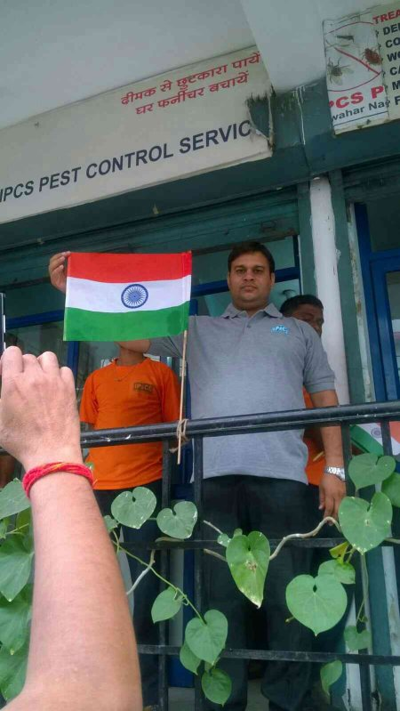 Independence day celebrations - by IPCS Pest Control Service, Jaipur