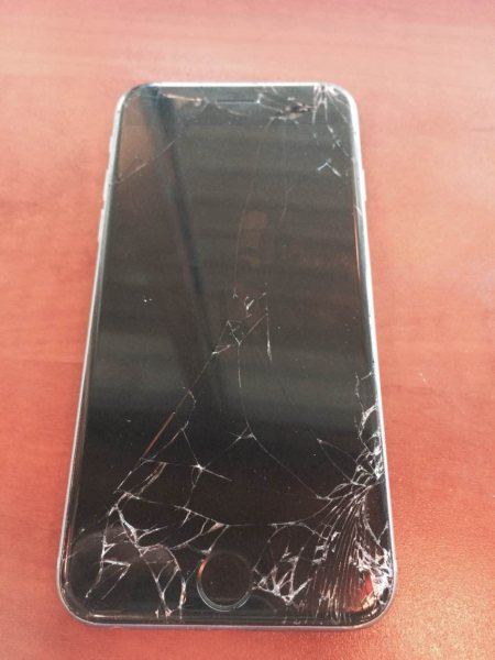 Ugh..Iphone 6 screen damage.  - by Fix My Cellphone, San Antonio