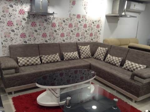SOFA SET : Padmavati gives you the best colour choice on sofa set,  Get this beautiful sofa set for the residential purpose Which Add Beauty To your interiors.  - by Padmavati Furniture, Ahmedabad