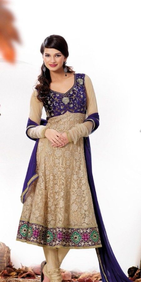 Beautiful Anarkali Frock for Women for similar products log on to  www.fashiondiva.me  - by FashionDiva.me - Hyderabad, Hyderabad