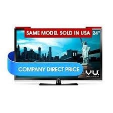 Vu 24 inch Edge LEDTV  Write Your Review Sign up for price alert Availability: In stock ₹11, 000.00