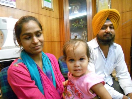 Corneal graft can be successful in children. We perform corneal transplants for children at Dr Ashok Sharma's Cornea Centre, Sector 22, Chandigarh. She had infantile glaucoma and corneal opacity and underwent corneal grafts in both eyes. Sh - by Dr Ashok Sharma's Cornea Centre, Chandigarh