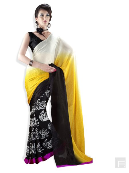 Half Saree Whole Saler - by JANU DESIGNER SAREES, Chennai