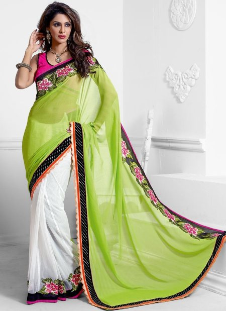 Half Saree Dealer in Chennai. - by JANU DESIGNER SAREES, Chennai