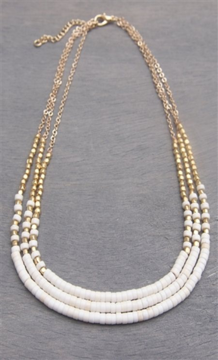 Cute Pearl Neck Chain for Girls  for similar products log on to  www.fashiondiva.me - by FashionDiva.me - Mumbai, Mumbai