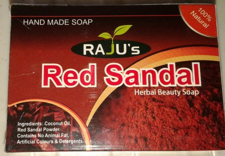 RED SANDAL SOAP  - by Raju Enterprise, Vijayawada