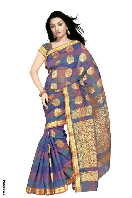 Cotton Sarees Suppliers In Madurai - by PLATINUM OVERSEAS, MADURAI