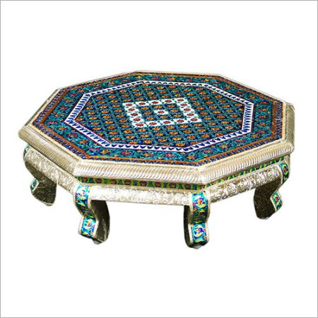 With the terrific support of our hard-working technocrats, we have been engrossed in manufacturing and supplying a broad array of Meenakari Metal Bedside. This product is placed at the side of bed and provide attractive look to the room. Th - by Himanshu Handicraft, Udaipur