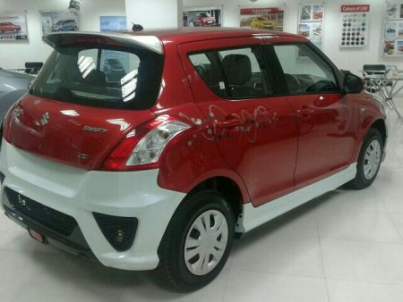 we have fixed sketings to swift car. which makes more attractive look to that car - by venu car designers, Hyderabad