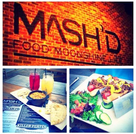 Want a great place for date night? In Frisco, Texas there is a place called Mash'D that is an experience for sure. Great food, great ambiance, and moonshine craft cocktails! It's a great place that if your around you should go check it out!
