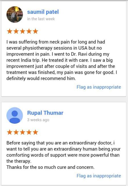 patient's review for