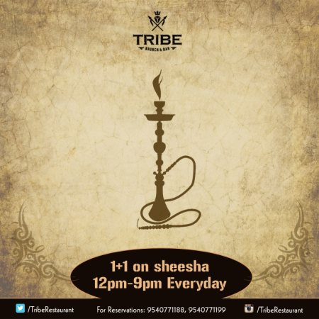 is the perfect spot for any occasion whether it is a light lunch, an after work drink, a business lunch, or even for a fun date night. Tribe is one of the first restaurant with outdoor seating in south Delhi and offering delicious seafood in south Delhi.