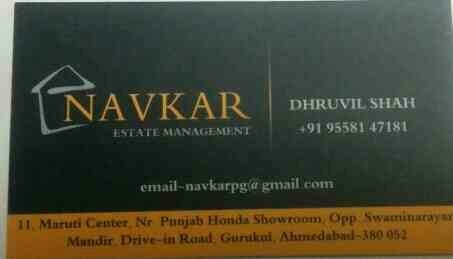 PG ACCOMMODATION FACILITY ON DRIVE IN ROAD AHMEDABAD