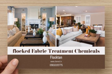 Flocktan  Flocked Fabric Treatment Chemical Speciality Chemical for Flocked Yarn  Flock Velvet Treament Product