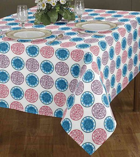 Coated Table Cloth With Water Repellent