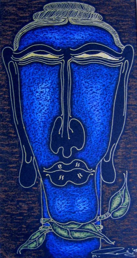 Few works of Chennai-based artist, Raja R have been added to the stock list .... Enjoy
