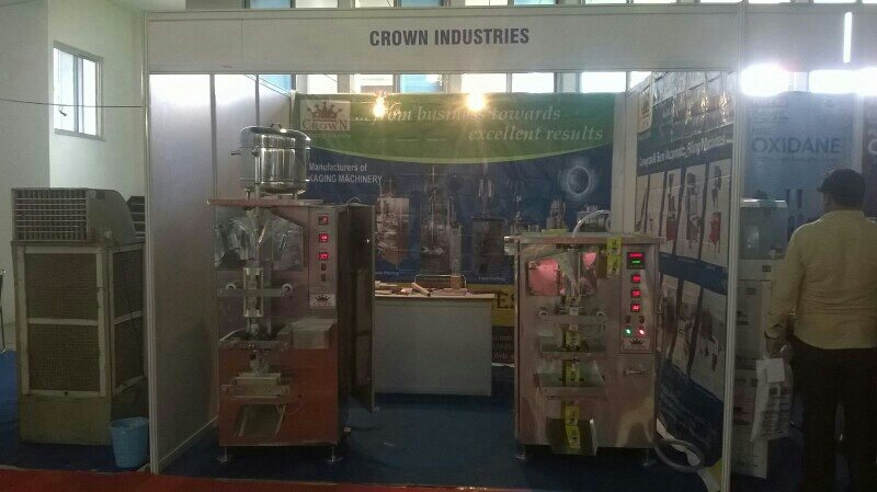 Mineral Water Pouch Packing Machines  latest high speed  Trouble free Maintenance free machines  avaliable  from Crown Industries  - by CROWN INDUSTRIES, Hyderabad