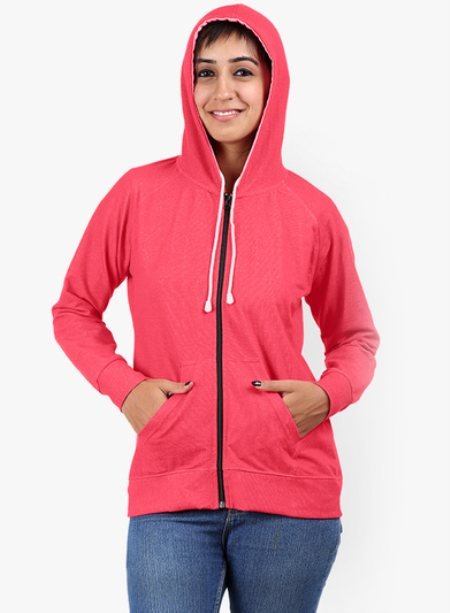 Pink Women's Winter Wear , Buy Online Sweatshirts   www.softwear.in - by Softwear, Tiruppur