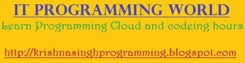 http://krishnasinghprogramming.blogspot.com