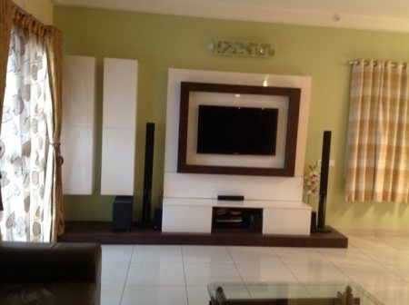 new one TV Unit - by Cosimo Interiors, Bangalore