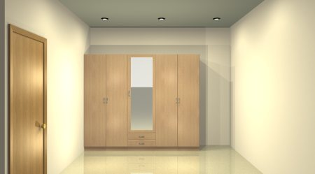 Wardrobe - by Cosimo Interiors, Bangalore