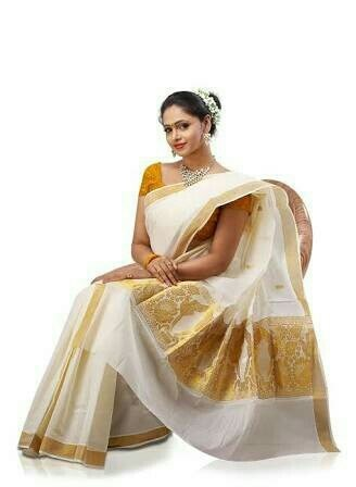kerala saree manufacturer. in salem - by Aaranya Sarees, Salem