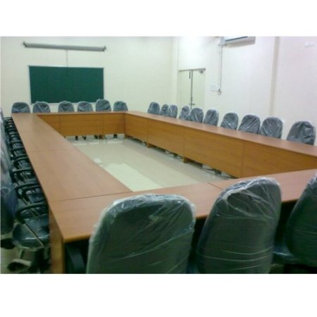 We offer a wide collection of Conference Furniture which are designed by us as in accordance with current trends in Hyderabad, These Conference Furnitures are Widely used in hotels, offices and other institutions, these tables are sturdily  - by Edifice Solutions Pvt Ltd, Hyderabad