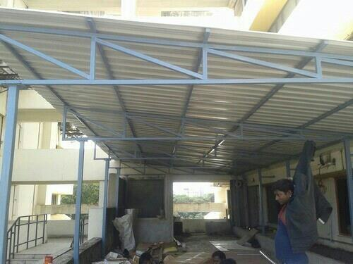 Roofing Shed Works Roofing Shed Works In order to keep pace with the ever growing demand of our client's we are involved in rendering Roofing Shed Work to our clients. This offered Roofing Shed Work is widely accepted in industrial, commerc - by Srs Colour Roofing, namakkal