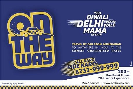 "Enjoy Your Ride With ""On The Way Cabs"" Dis Diwali............. - by On The Way Cab Services, Ahmedabad"