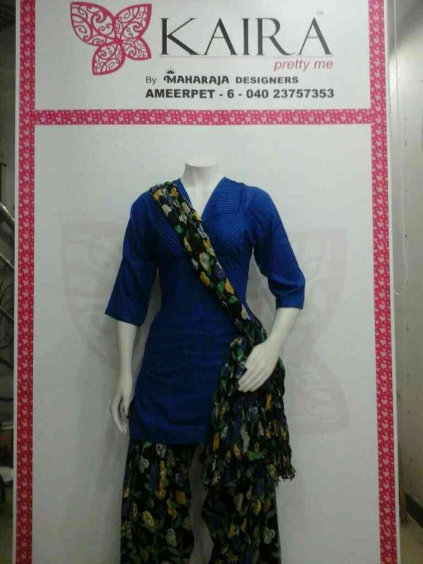 Kurti ( cotton ) M  colors available  MRP 1000 patiala printed  Free size  MRP 680 to 950.  - by KAIRA,AMEERPET, Hyderabad