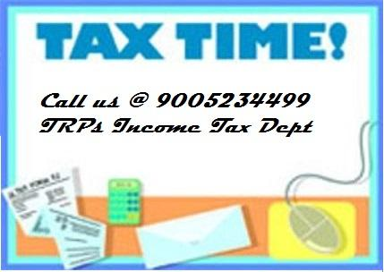 Income Tax return Filing (ITR)