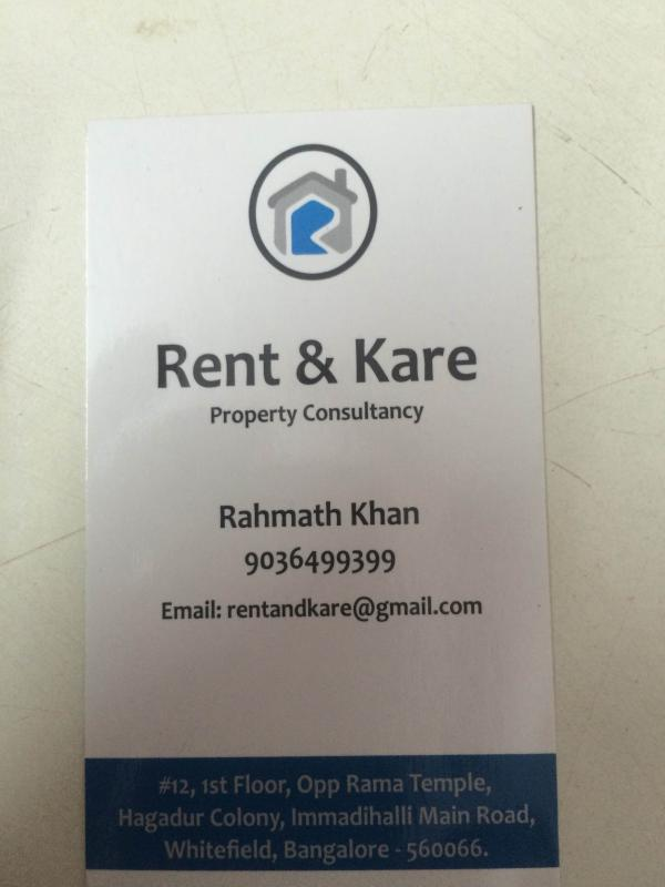 2 Bhej flat for sale in whitefield - by Rent and Kare Realtors, Bangalore Urban