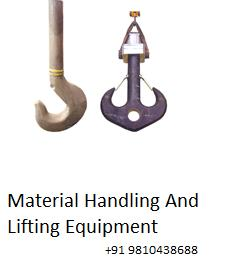 Material Handling and Lifting Equipment are an important part of contraction and their tools. Crane Hooks is an important contraction tools which is very frequently used at the time of contraction. It is very important to take good quality  - by Material Handling and Lifting Equipment in Delhi|Balkishan Dass, delhi
